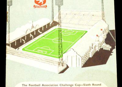 Villa v Burnley 28.02.1959 | FA Cup 6th Round