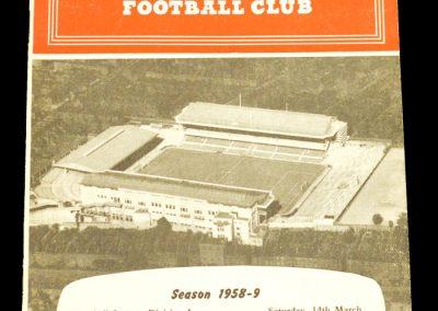 Arsenal v Blackburn 14.03.1959