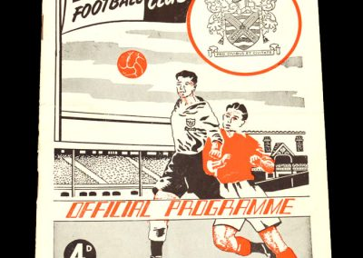 Fulham FC v West Ham United 11.04.1955