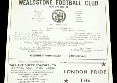 Athenian League v Uganda 05.09.1956 | at Wealdstone