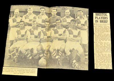Middlesbrough FC v Bristol Rovers 08.09.1956