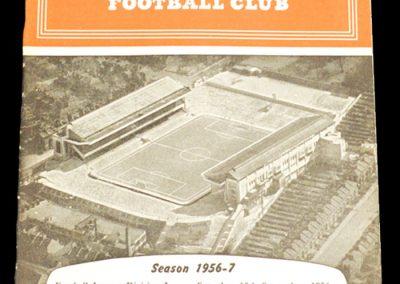 Arsenal v Newcastle United 15.09.1956