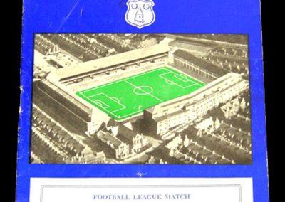 Everton v Sunderland 22.09.1956