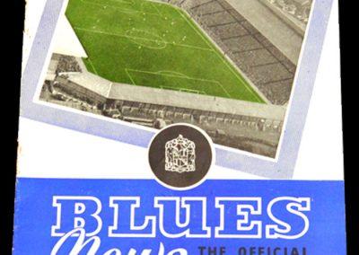 Birmingham City v Cardiff 22.09.1956