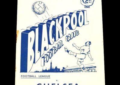 Blackpool v Chelsea 22.08.1953