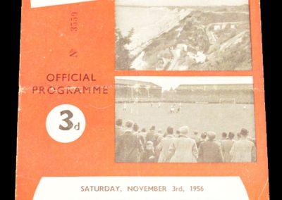 Bournemouth & Bosecombe v Plymouth Argyle 03.11.1956