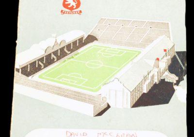 Aston Villa v Chelsea 24.11.1956