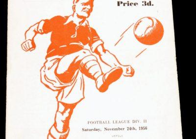 Rotherham United v Huddersfield Town 24.11.1956