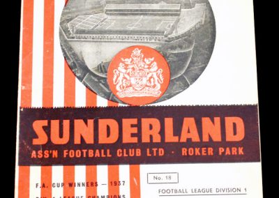 Sunderland v Birmingham City 24.11.1956