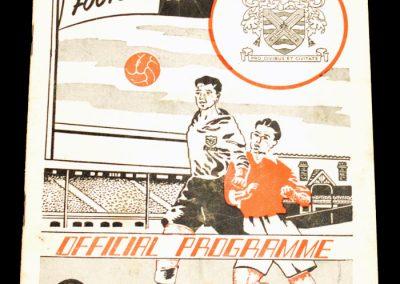 Fulham FC v Leyton Orient 08.12.1956