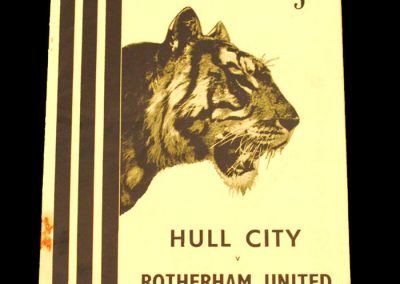 Hull City v Rotherham United 31.10.1953
