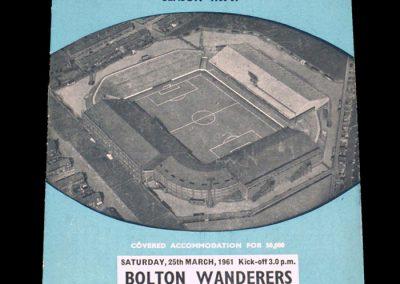 Manchester City v Bolton Wanderers 25.03.1961