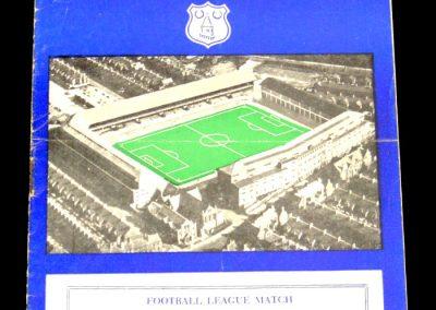 Everton v Luton Town 19.01.1957