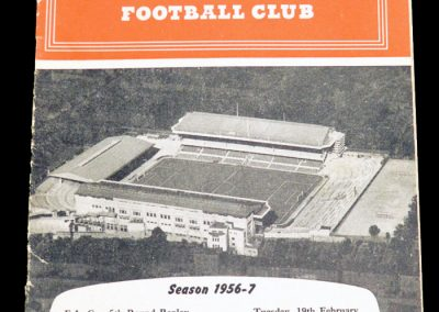 Preston North End v Arsenal 19.02.1957 | FA Cup 5th Round Replay