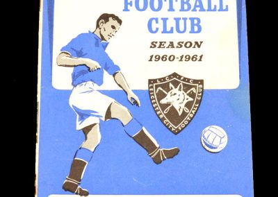 Blackpool v Leicester City 20.08.1960