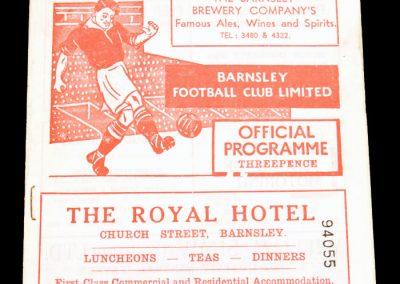 Barnsley v Doncaster 02.03.1957