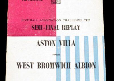 Aston Villa v West Bromwich Albion 28.03.1957 | FA Cup Semi-Final Replay
