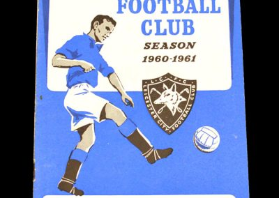 Blackburn Rovers v Leicester City 03.09.1960