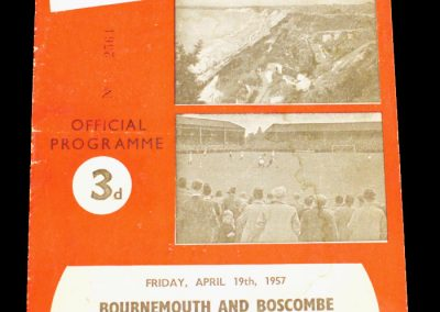 Bournemouth and Boscombe v Coventry City 19.04.1957