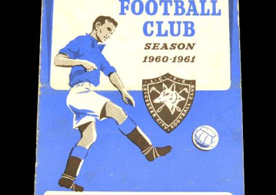 Arsenal v Leicester City 08.10.1960