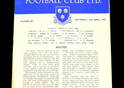 Shrewsbury v Torquay 17.04.1954