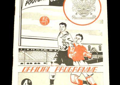 Fulham FC v Swansea Town 19.04.1954