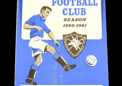 Rotherham United v Leicester City 26.10.1960 | League Cup 2nd Round