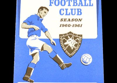 Preston North End v Leicester City 04.11.1960