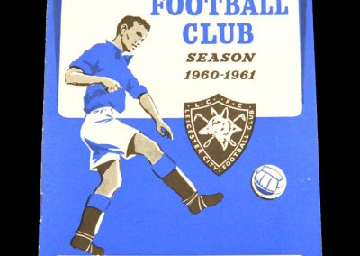 Sheffield Wednesday v Leicester City 19.11.1960