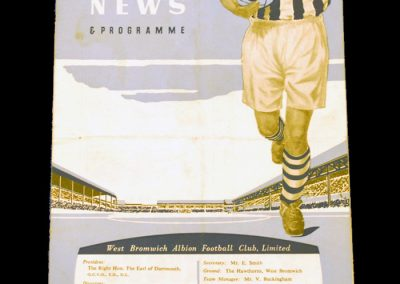 West Bromwich Albion v Manchester United 02.09.1953