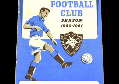 Everton v Leicester City 31.12.1960