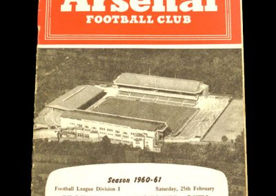 Arsenal v Leicester City 25.02.1961
