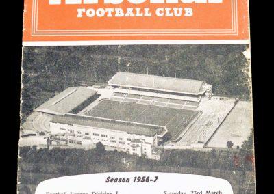 Arsenal v Wolverhampton Wanderers 23.03.1957