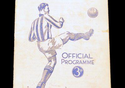 Huddersfield Town v Manchester United 31.10.1953