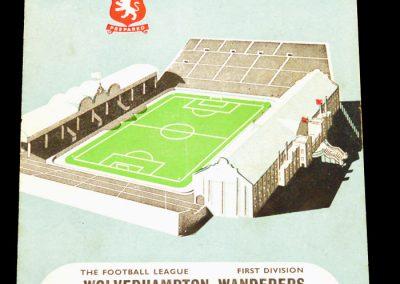 Aston Villa v Wolverhampton Wanderers 22.04.1957