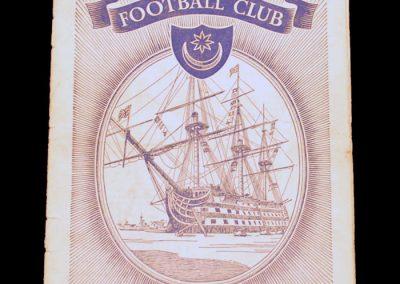Portsmouth FC V Manchester United 28.11.1953