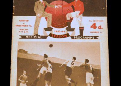 Sheffield United v Manchester United 05.12.1953