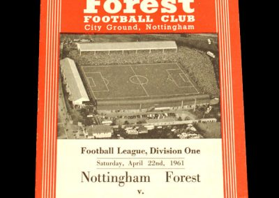 Nottingham Forest v Leicester City 22.04.1961