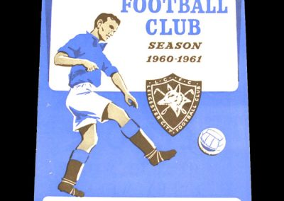 Manchester United v Leicester City 26.04.1961