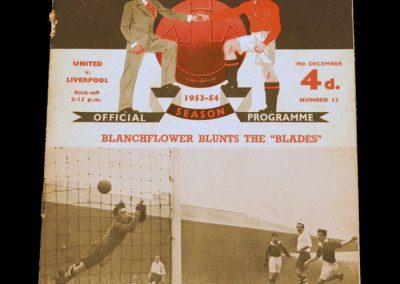 Liverpool v Manchester United 19.12.1953