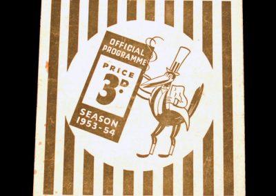 Newcastle United v Manchester United 02.01.1954