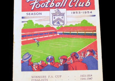Burnley FC v Manchester United 09.01.1954 | FA Cup 3rd Round