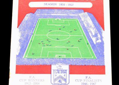 Burnley FC v Leeds United 20.10.1956
