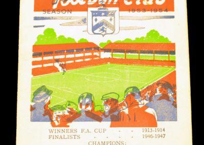 Burnley FC v Manchester United 20.02.1954