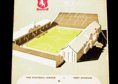 Aston Villa v Manchester United 13.03.1954