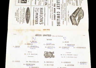Portsmouth v Leeds United 08.12.1956