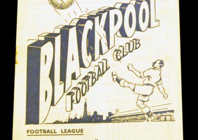 Blackpool FC v Manchester United 10.04.1954