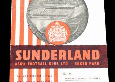 Sunderland v Leeds United 19.04.1957