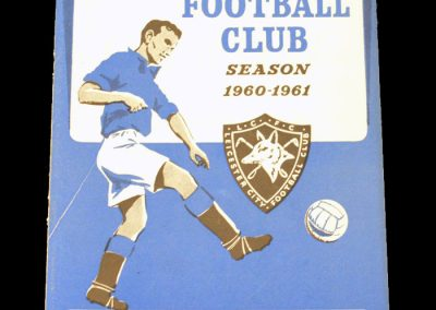 Leicester City v Manchester City 21.01.1961