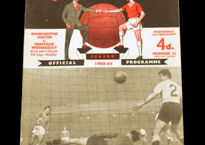 Sheffield Wednesday v Manchester United 01.02.1961 | FA Cup 4th Round Replay